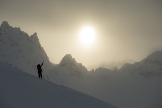 Dane Tudor, Tordrillo Mountains, Alaska