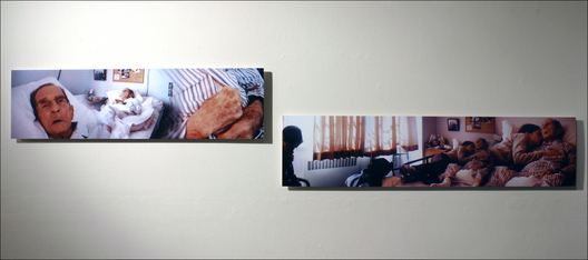 "inkjet prints, left: 9.75"" x 36.25,"" right: 9.75"" x 41.5"""