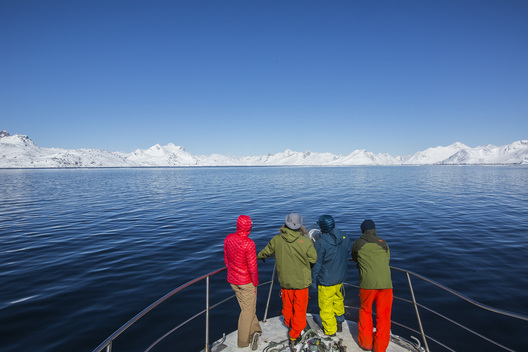 Lucas Debari, John Collinson, Ralph Backstrom; Hilaree Oneill, Southeast Greenland