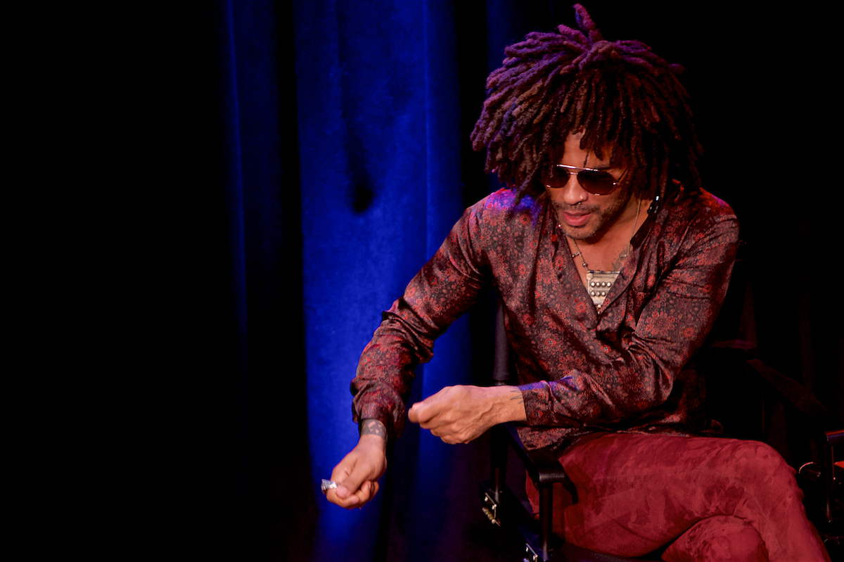Speakeasy Talks Lenny Kravitz and Sean Lennon Triad Theater New York, NY August 12, 2018  DerekBrad.com