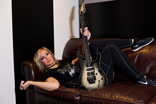 Nita Strauss Musician Portrait Project May 2019  DerekBrad.com