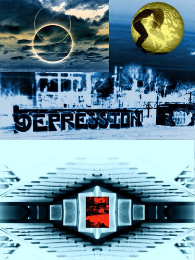 A look at suburbia.  An iPad photographic collage using photographs from iPhone 4 and various apps.
