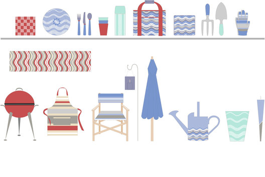 Application of surface pattern to a range of homeware products.