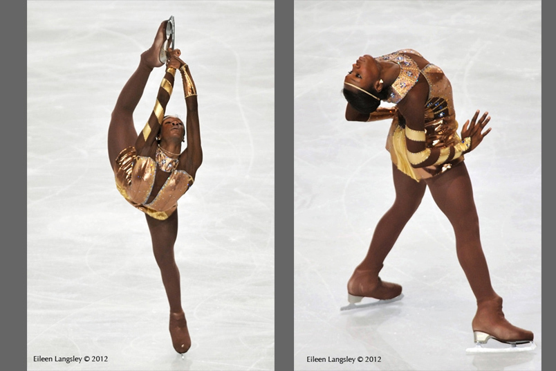 Mae Berenice Meite (France) competing in the long programme and in the Exhibition Gala