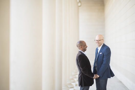 We are among the many Same Sex Wedding Photographers in San Francisco.  What separates my business from the rest is my clean, timeless aesthetic.  I believe that your photos should look the way they did the day they were taken.  We love servicing our same sex and LGBTQ clients!  Love is love and everyone has a unique love story to share.  We come to each wedding with open hearts, and excited to document these moments for our same-sex wedding couples.