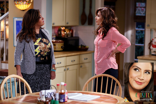 "CRISTELA - ""Mr. Felix & Ms. Daniela"" -- After Daniela's friend mistakes Cristela for the nanny, tensions flare between the two sisters and surprisingly it is Felix who brings them back together. Meanwhile, Alberto tries to get closer to Cristela in an unexpected way, on ""Cristela,"" FRIDAY, OCTOBER 24 (8:31-9:00 p.m., ET) on the ABC Television Network. (ABC/John Fleenor)