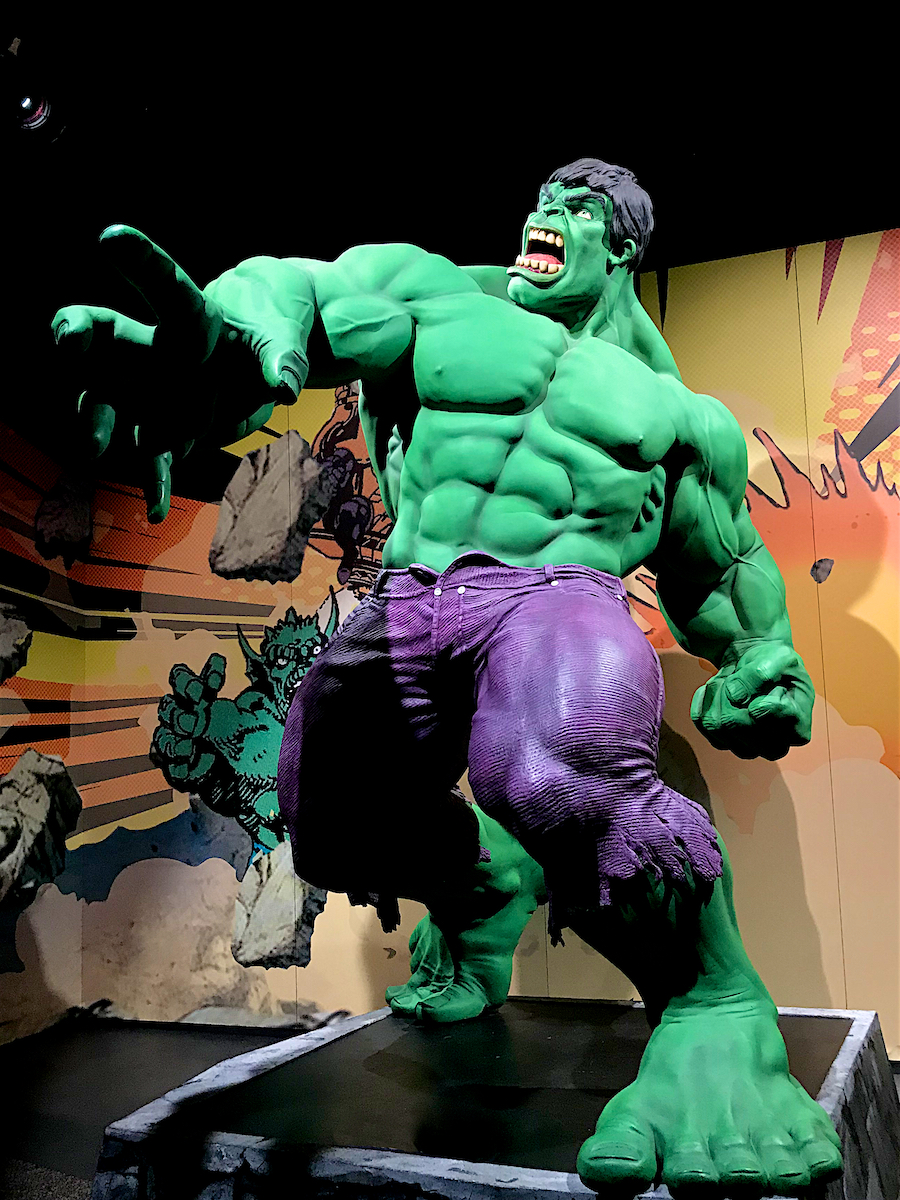 Marvel: Universe of Super Heroes The Franklin Institute Philadelphia, Pa July 2019  DerekBrad.com
