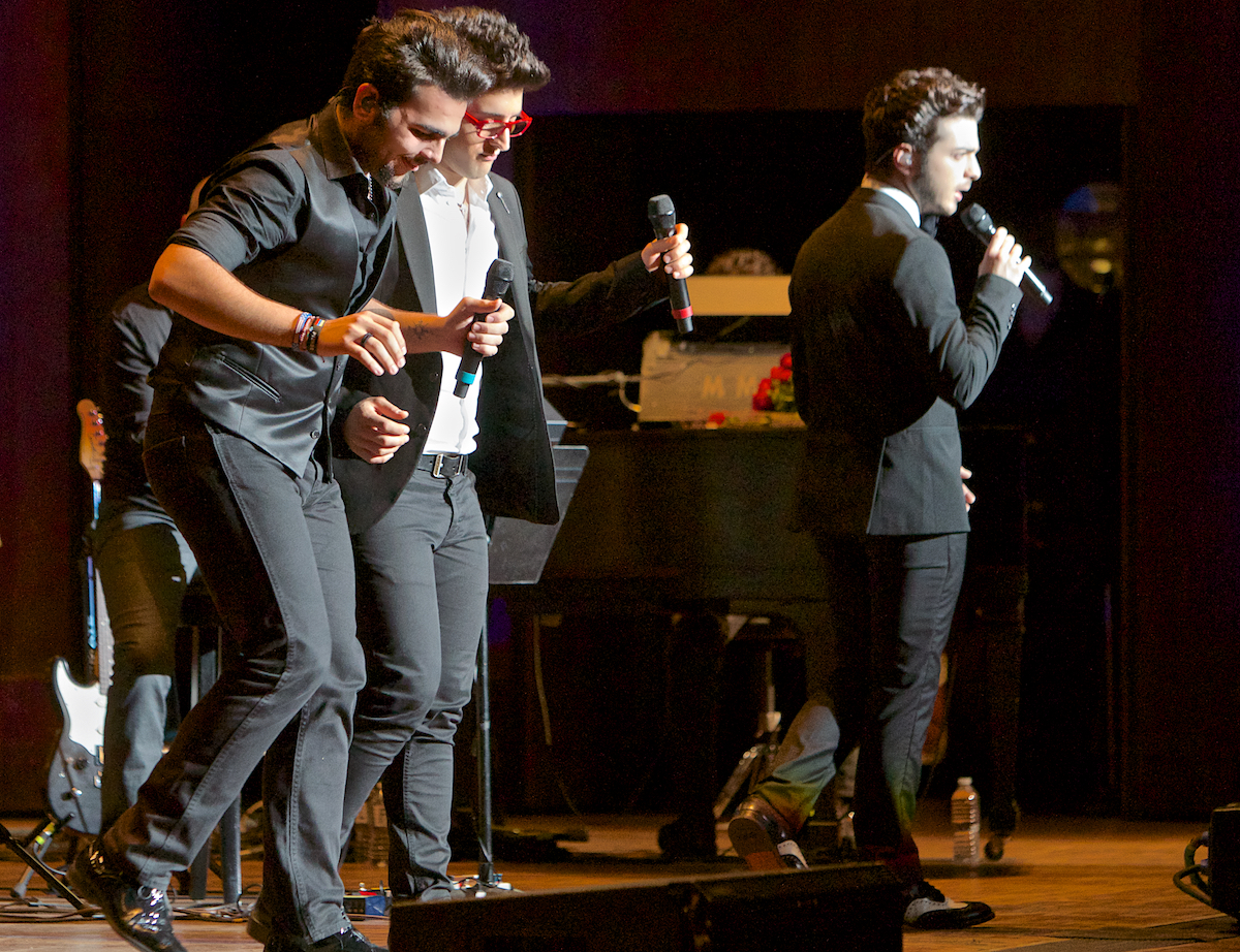 Il Volo with The Philadelphia Orchestra Conductor Cristian Mcelaru The Mann Center Philadelphia, Pa June 13, 2014   DerekBrad.com