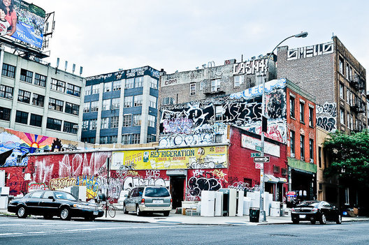 New York  photography by Jesse Knish