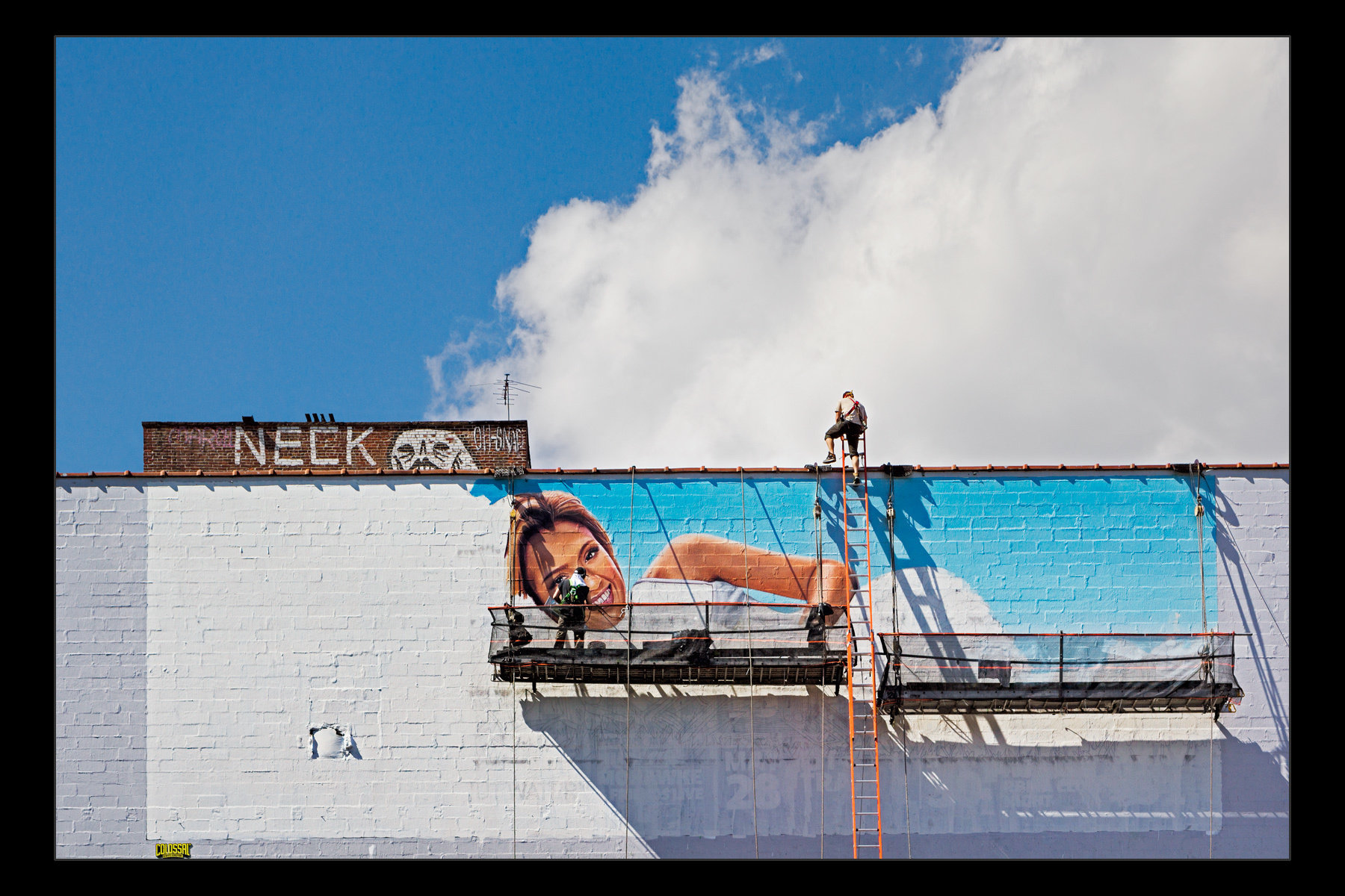 sign painters, Brooklyn