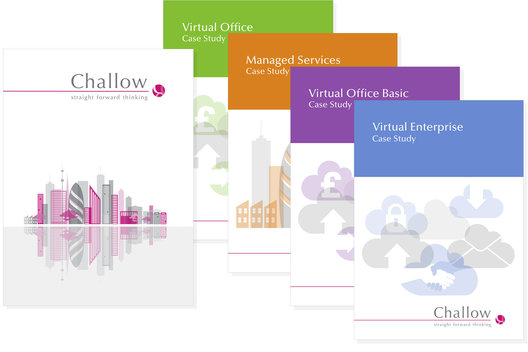 Folder and case studies for IT support and services.