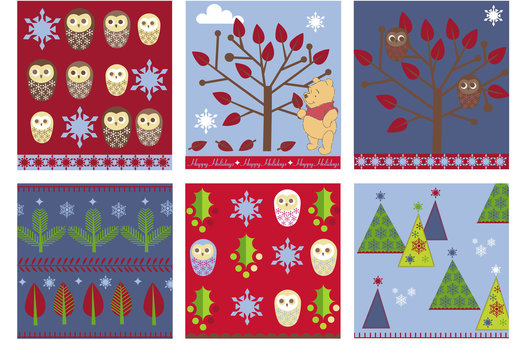Creation of pattern and trim for Winnie the Pooh, 