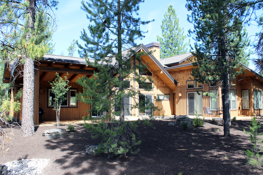 After working in conjunction with a local builder / developer for two small sized professional office buildings and several residential remodeling projects in the Portland metro area, we were asked to design the builder's new personal residence in Bend, Oregon.