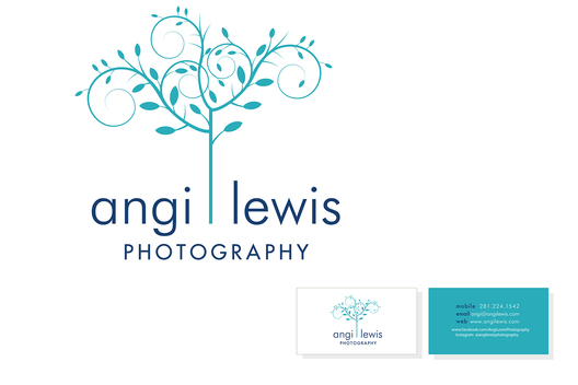 Identity design and stationery for a photographer.