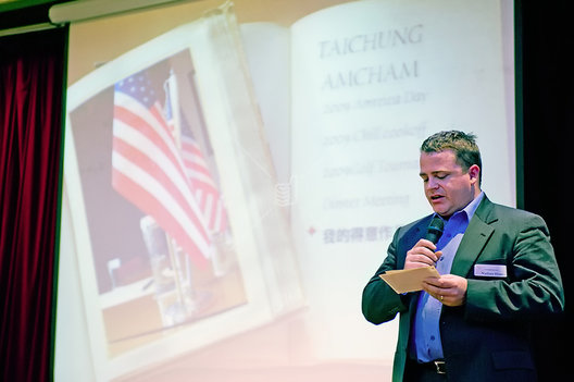 Nathan Hines, American Chamber of Commerce Taichung, Taiwan, President