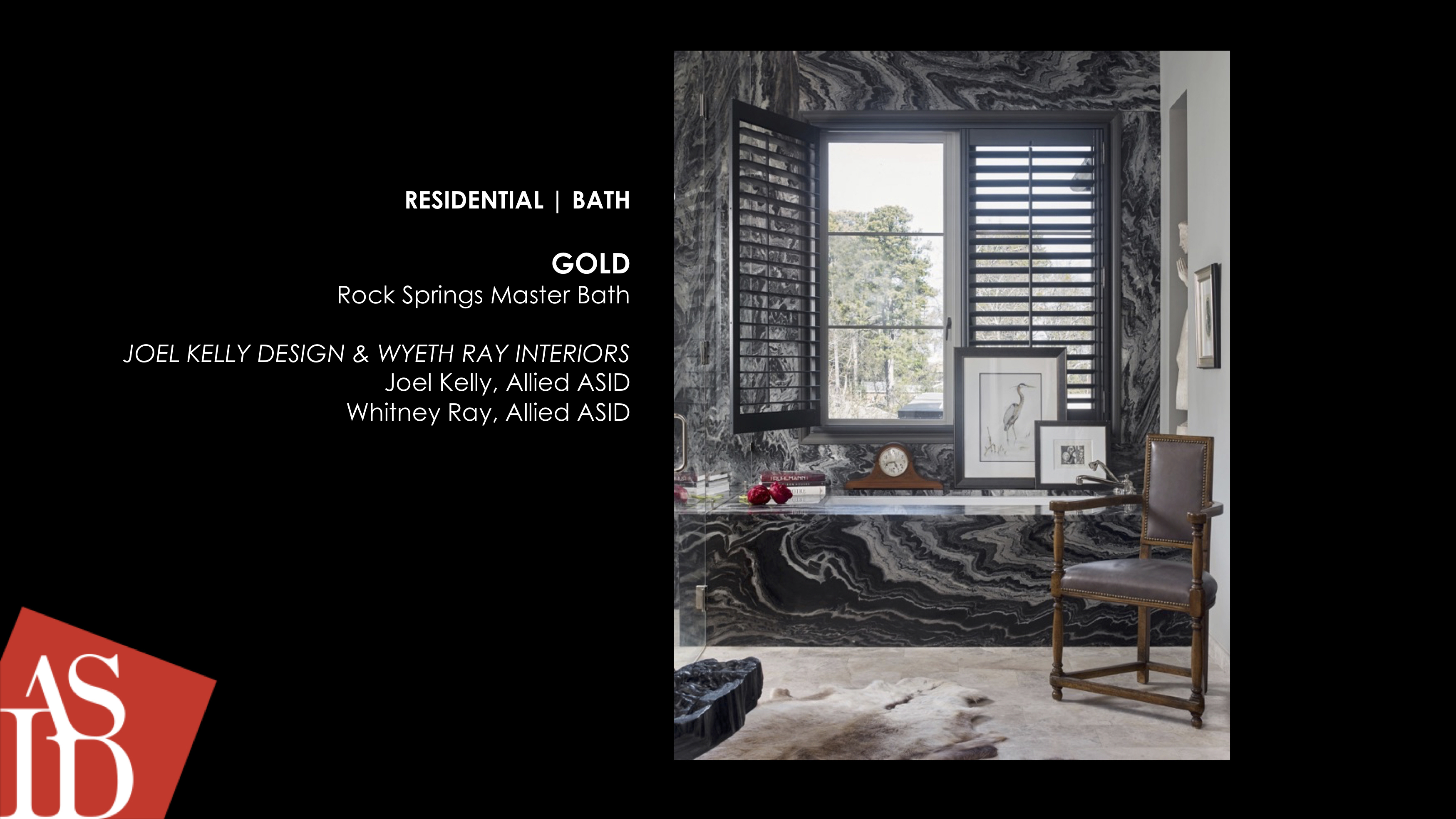 ASID Gold Bathroom