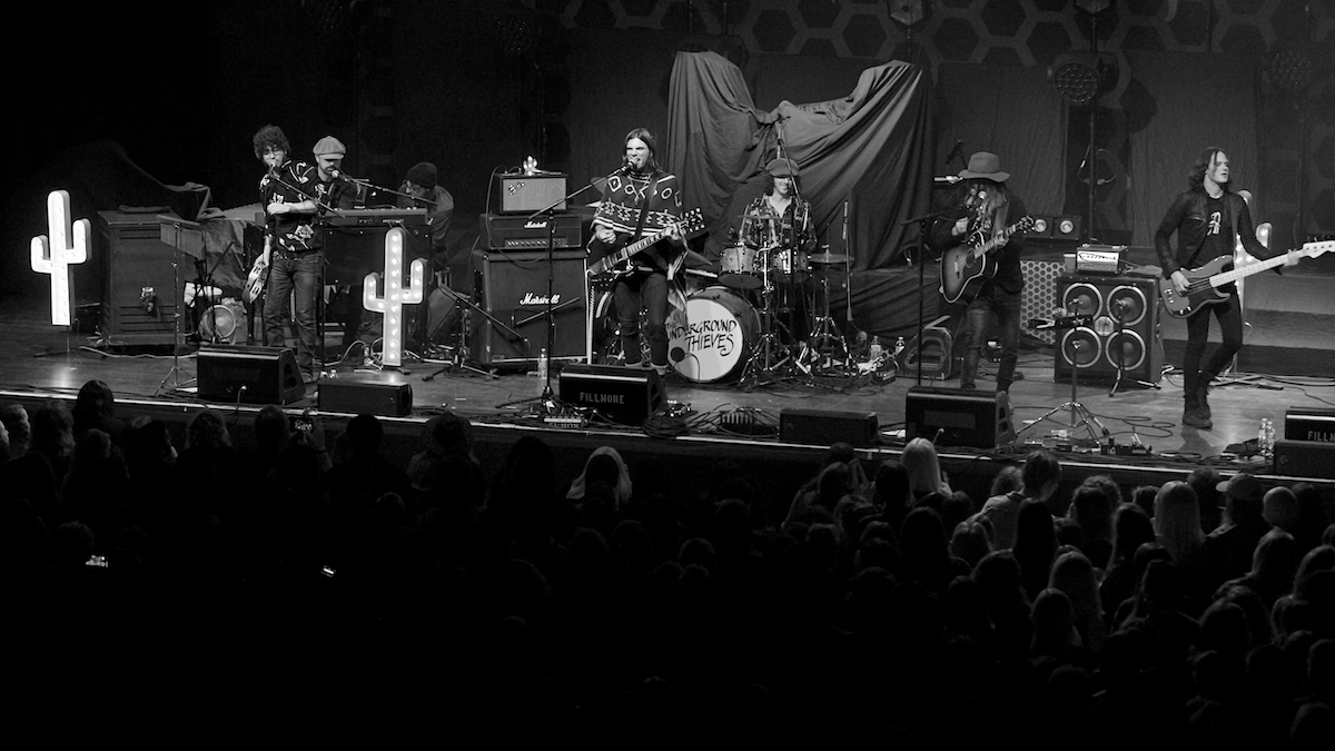 The Underground Thieves The Fillmore Philadelphia, Pa December 28, 2019  DerekBrad.com