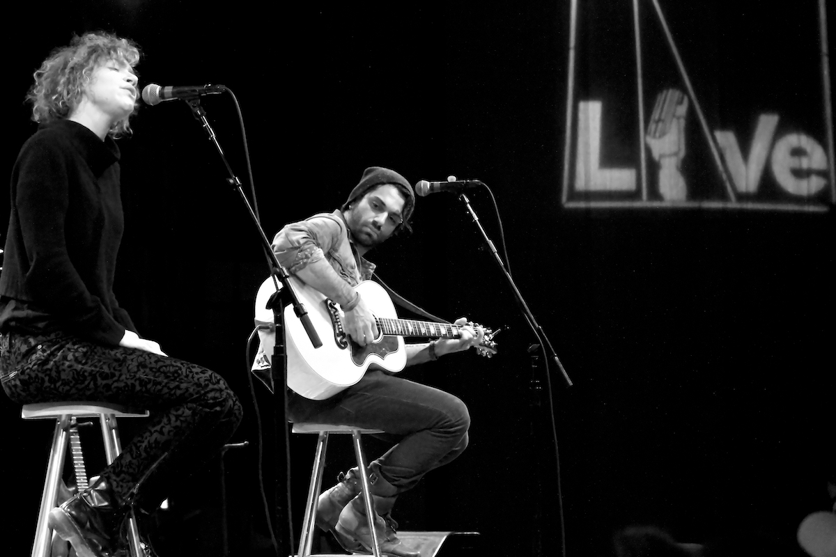 Acoustic Tour World Cafe Live Philadelphia, Pa January 29, 2013  DerekBrad.com