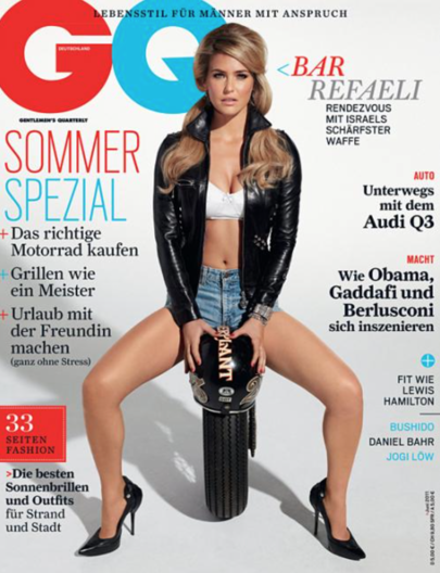 Bar Refaeli GQ Germany