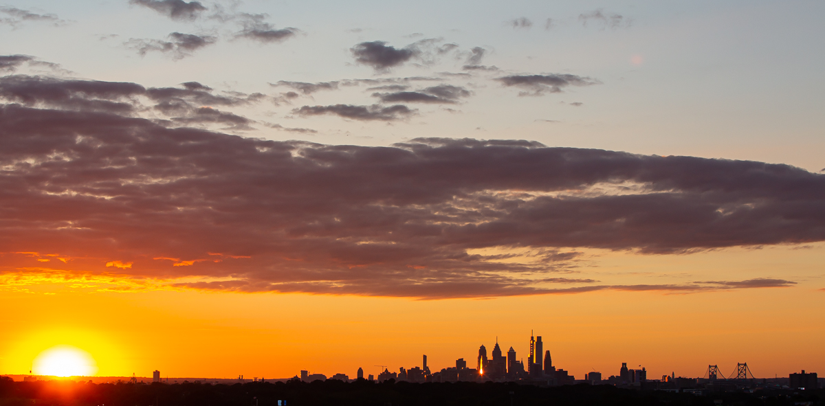 Philadelphia Skyline September 18, 2020