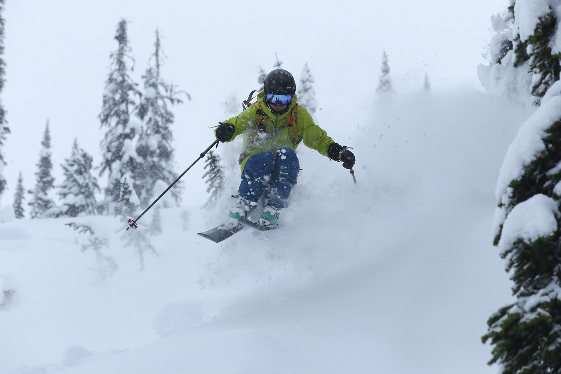 Stian Hagen, Sunrise Lodge, Esplanade Range, BC, Canada