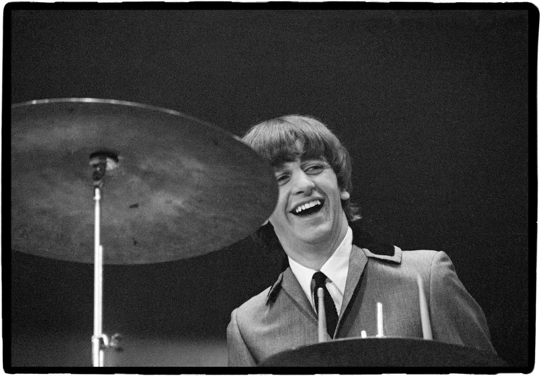Ringo Starr Beatles 1st US Concert The Coliseum Washington DC 1964