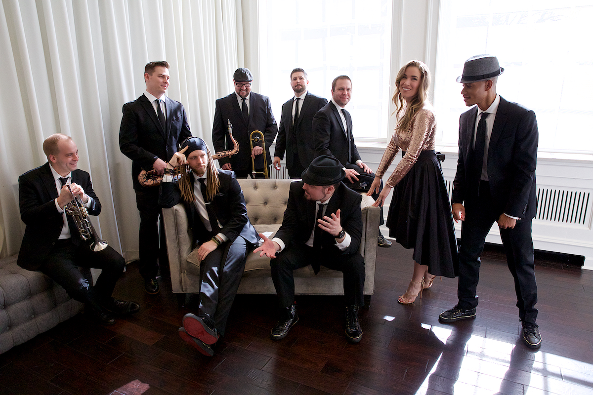 Modern Luxe Promo Photo Shoot Ballroom at Ellis Perserve Newtown Square March 2019  DerekBrad.com