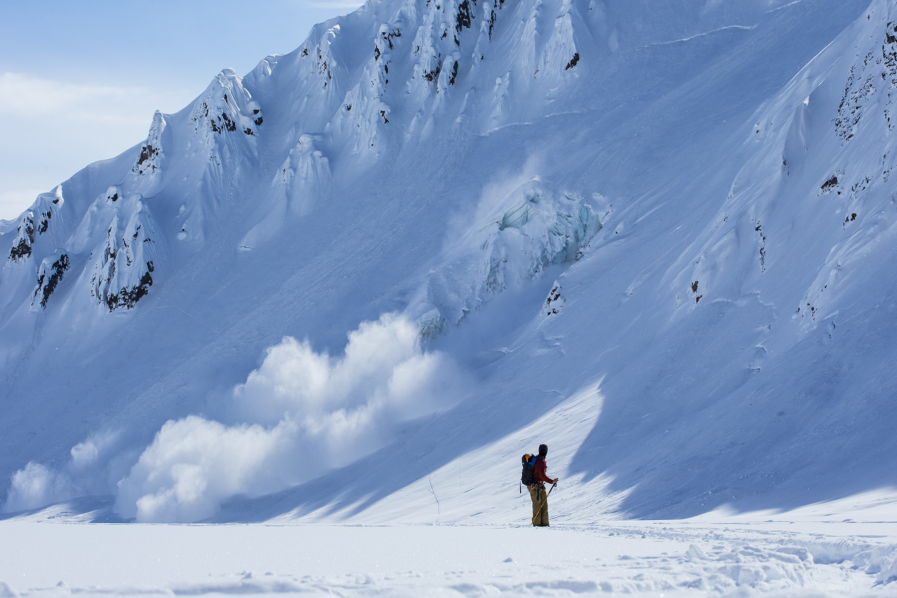 Griffin Post, Tordrillo Mountains, Alaska