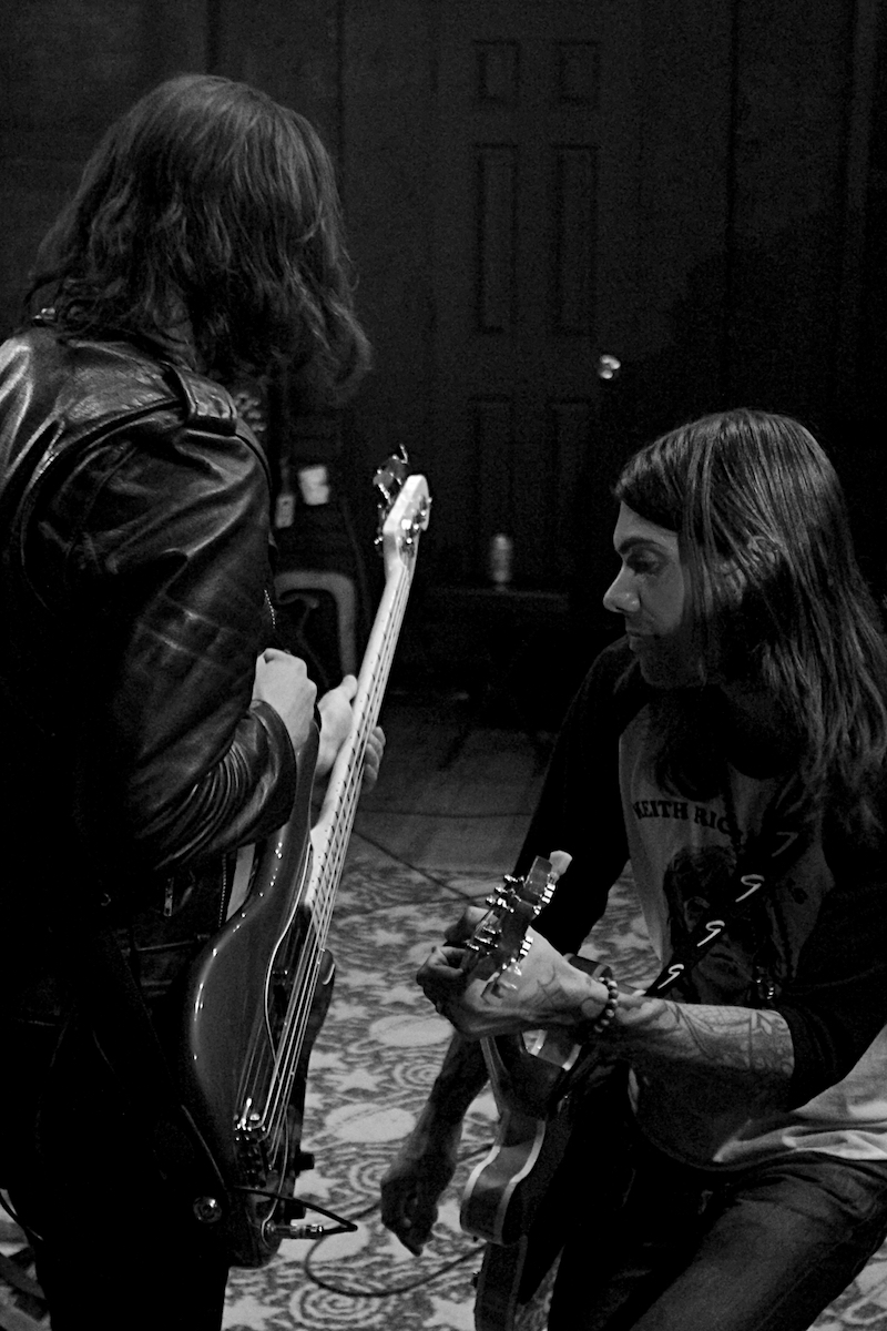 The Underground Thieves Rehearsal 2 Rhawn Street Studios Philadelphia, Pa May 9, 2018  DerekBrad.com
