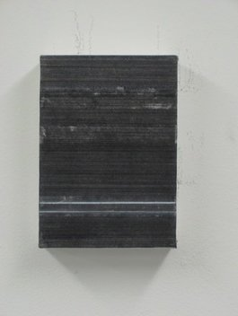 Graphite on Paper on Wood Panel