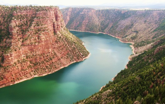 Flaming Gorge in Wyoming