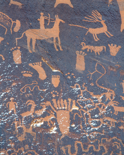 Newspaper Rock - San Juan County, Utah