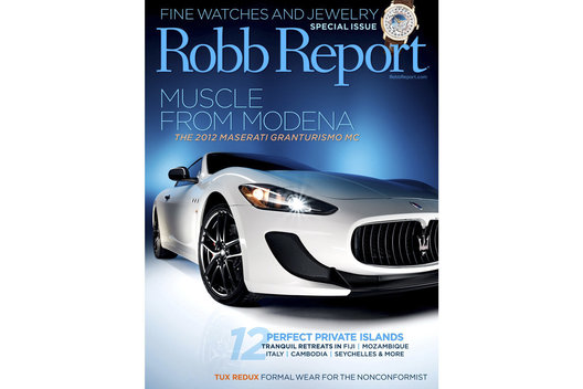 Robb Report / Cover / Thierry Bearzatto Photography