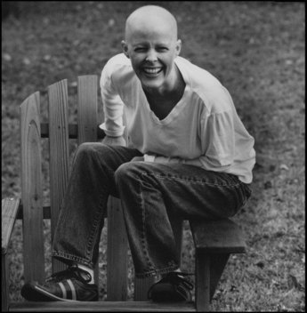 """Since the cancer, I think that my whole personality is kicked up a notch. I love to laugh and so I like to do it a lot.  I think southern women are very funny.  They have really good sense of humors.  Even after the cancer, I laughed more then, because there were so many jokes to be made.:"