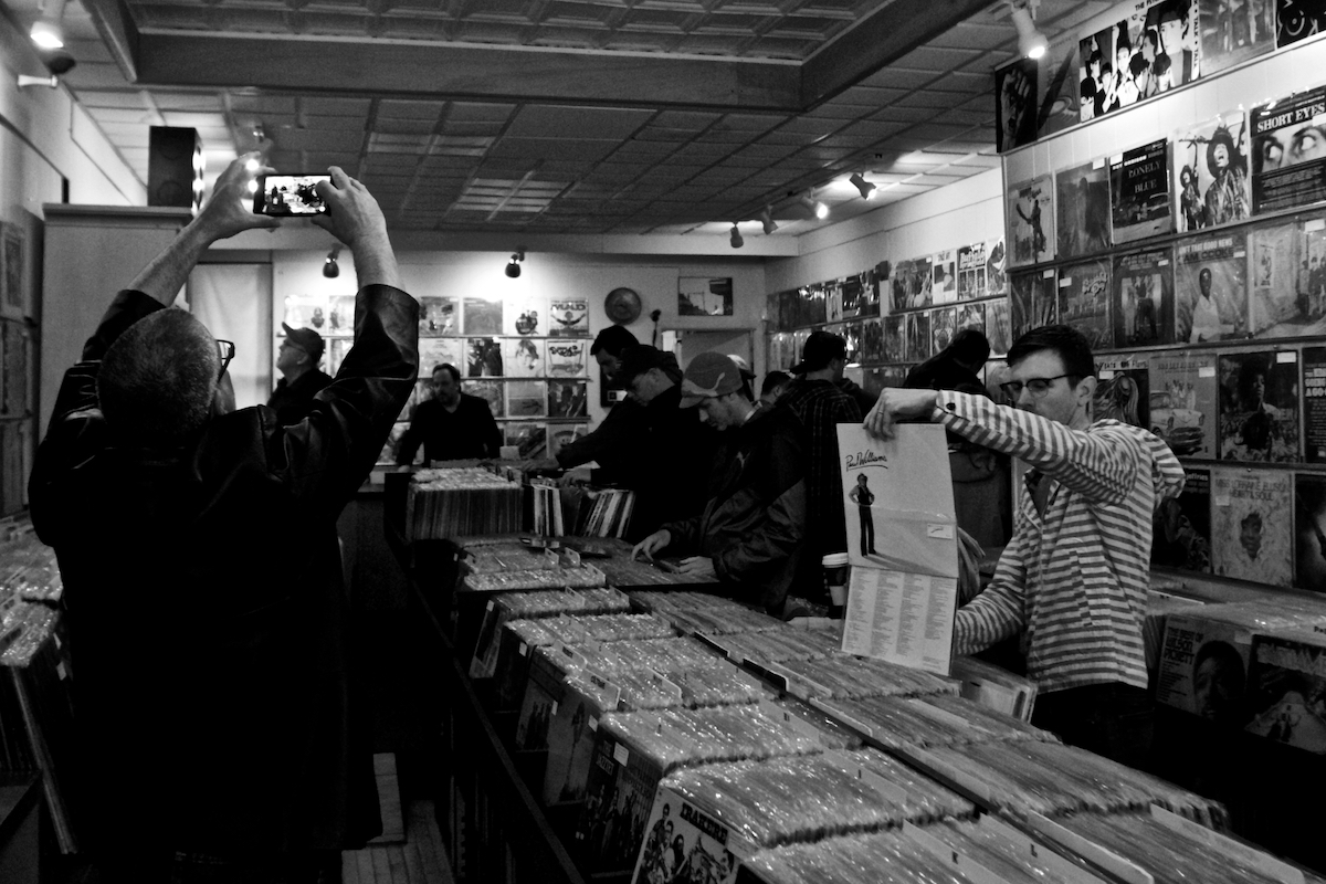 10th Anniversary of Record Store Day April 22, 2017 Collingswood, NJ