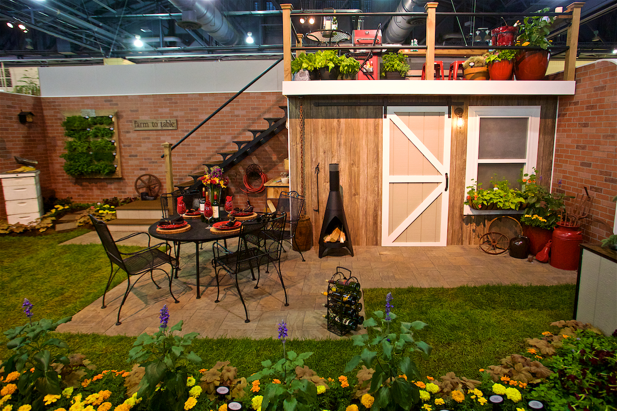 Philadelphia Flower Show Flower Power Convention Center Philadelphia, Pa March 2019  DerekBrad.com