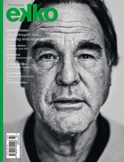 Oliver Stone for Ekko magazine