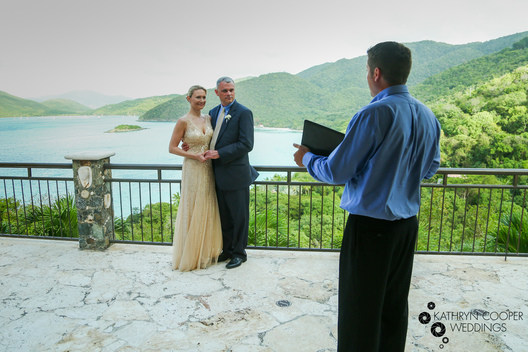 St. john elopement photographer at private villa in the United States Virgin Islands