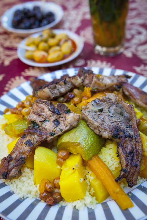 Lamb Cous Cous, The Medina, Fes, Morocco