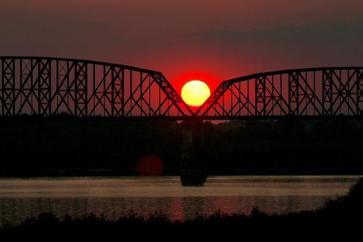 Ohio River - Metropolis, Illinois
