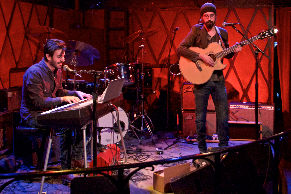 Rockwood Music Hall New York, New York December 10, 2015  DerekBrad.com