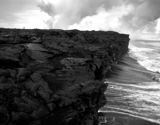 Kilauea Lava Beach, Hawaii
