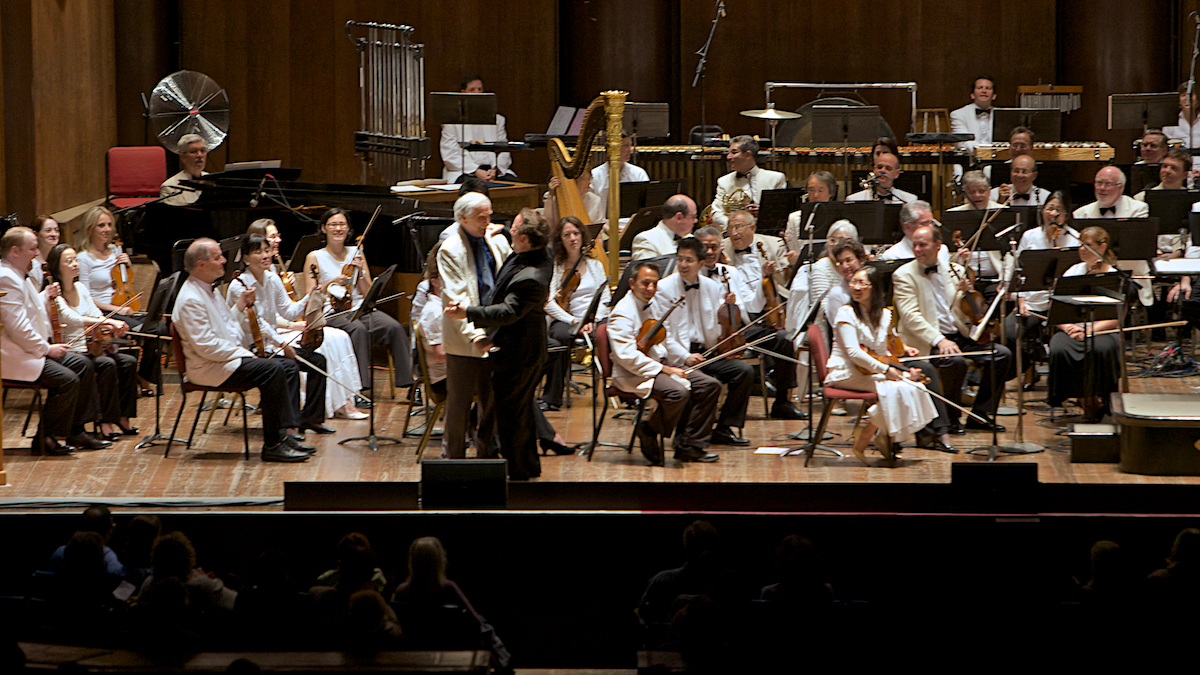 Peco Pops Philadelphia Orchestra The Mann Center July 20, 2012 Lucas Richman - Conductor Peter Mark Richman - Host  DerekBrad.com