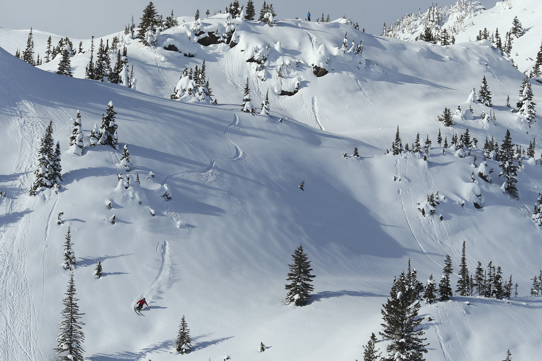 Austin Ross, Sunrise Lodge, Esplanade Range, BC, Canada