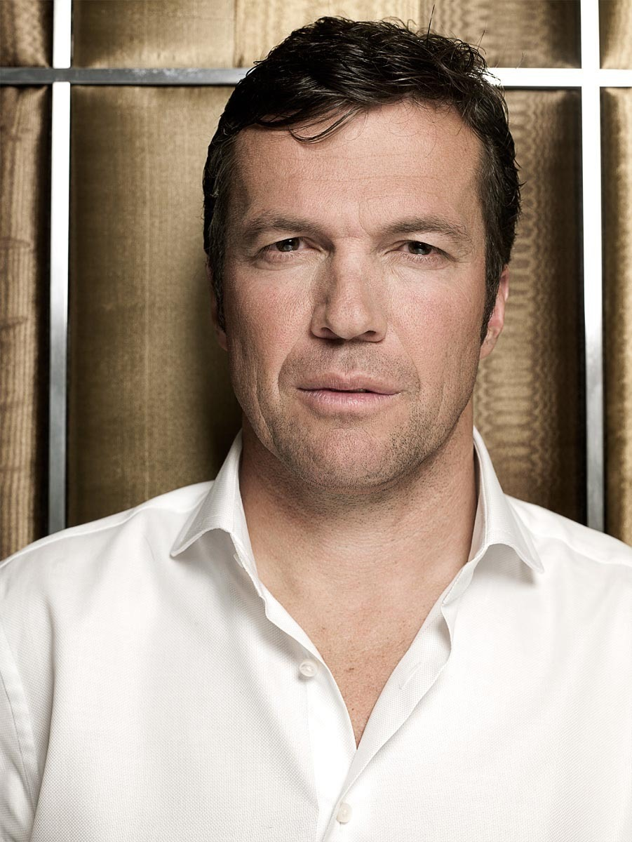 editorial portrait of world soccer player lothar matthäus