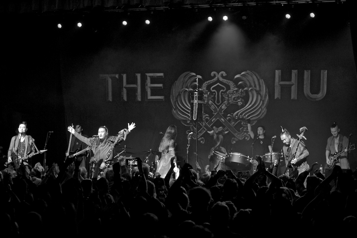 The Hu  The Gereg Tour TLA Philadelphia, Pa November 13, 2019  DerekBrad.com