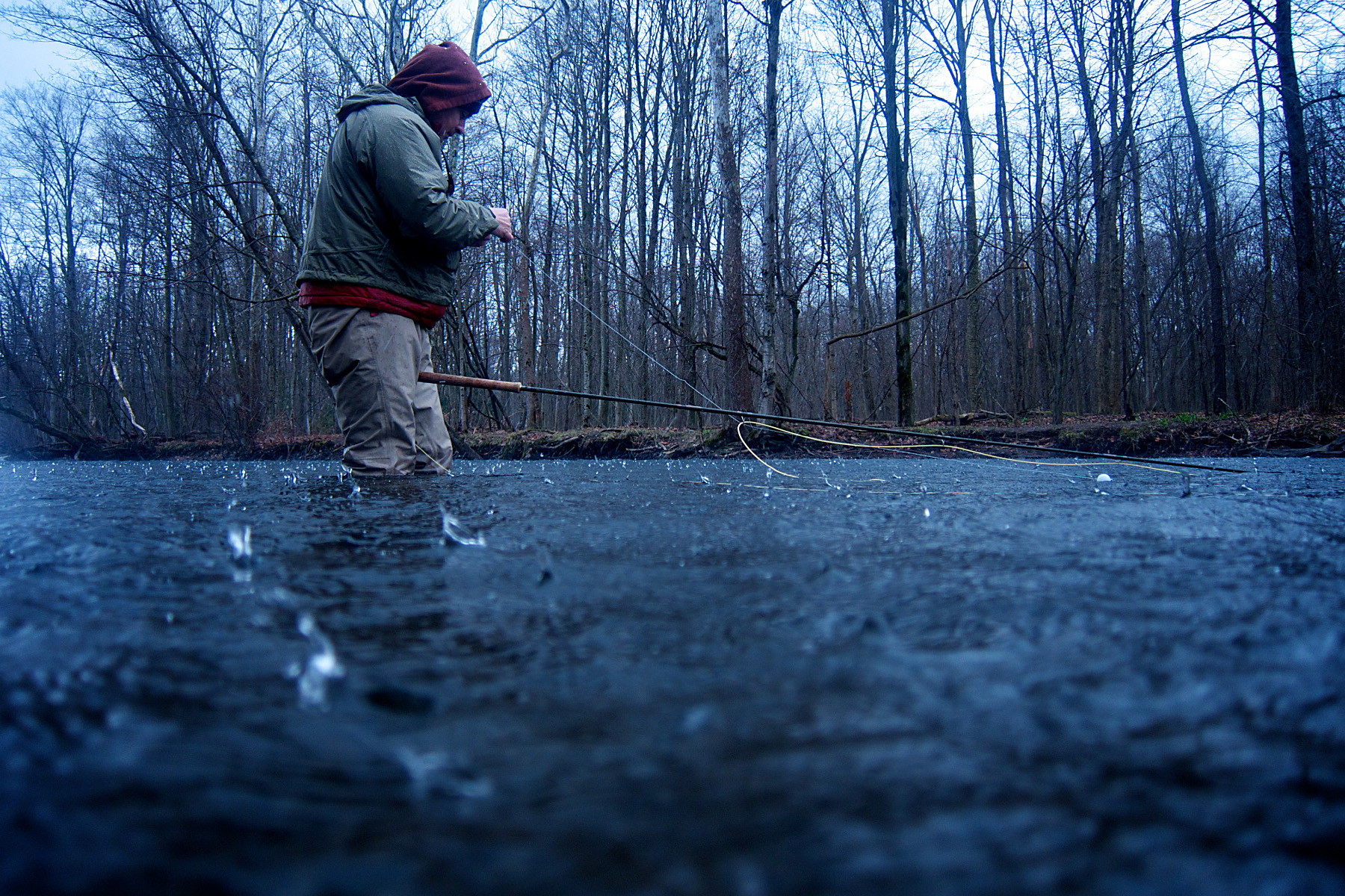 Steelhead fishing, Pulaski, NY