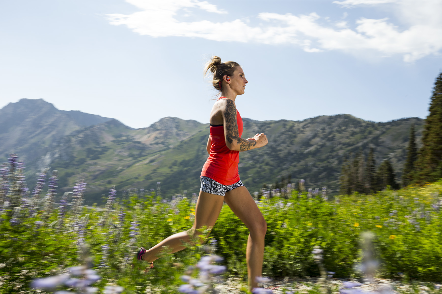 Trail Running, Wasatch Mountains, Utah