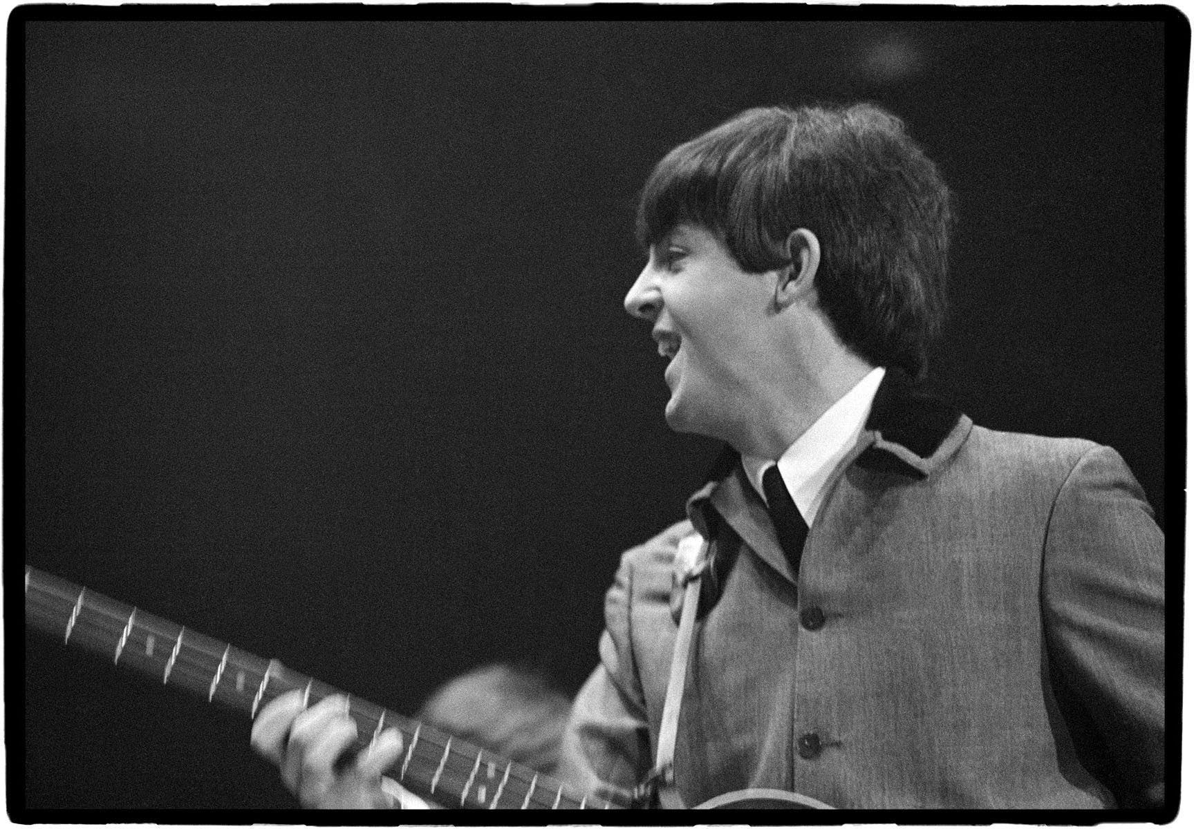 Paul McCartneyBeatles 1st US Concert The Coliseum Washington DC 1964