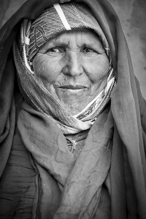 Portrait of Local Woman, Tamtattouchte, Morocco, MR